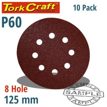SANDING-DISC-125MM-60-GRIT-WITH-HOLES-10/PK-HOOK-AND-LOOP